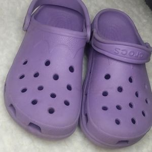 Crocs Lavender Women's Size Medium